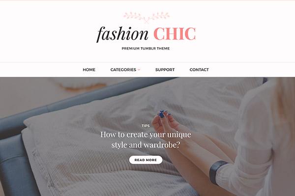 Fashion Chic Tumblr Theme - 2