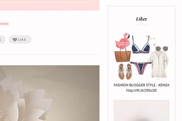 Fashion Chic Tumblr Theme - 5
