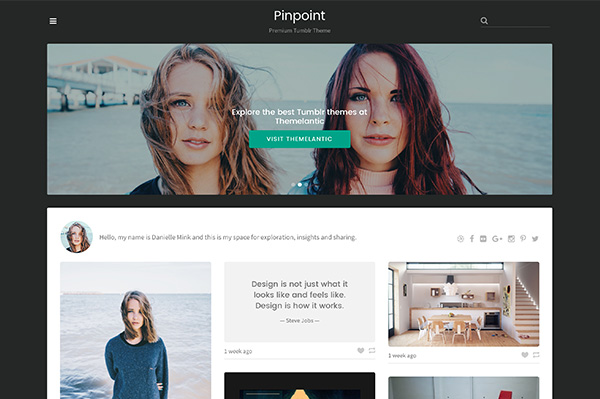 Pinpoint Tumblr Theme (Tumblr) Pinpoint Tumblr Theme (Tumblr) pinpoint 1