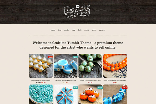 Craftista Home