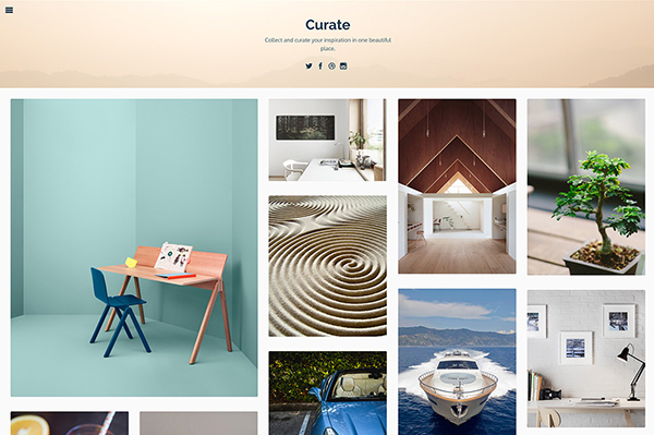 Curate Home