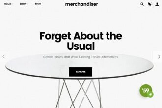 Merchandiser WordPress Theme
